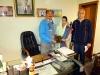chairman-mcc-afzal-kahn-presenting-book-with-welfare-working-lady-and-m-rashid-khansectary-lda-employees-union-reg